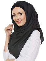 Muslim Women Cotton Full Cover Cap Hijab Scarf Headwear Turban Islam Headcover