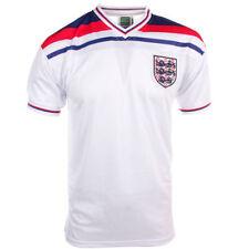 Camisetas de fútbol para hombres blanco talla S