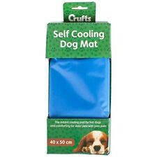 40 X 50cm Crufts Pet Cooling GEL Mat Bed Dog Cat Heat Relief Non Toxic Cushion