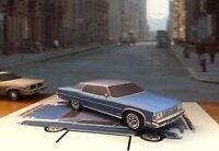 Papercraft Phantasm movie Tall Man 1966 Cadillac Hearse paper car EZU-make