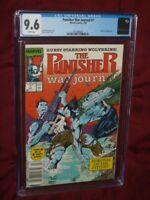 Punisher War Journal #7 CGC 9.6 Newsstand!    Jim Lee art!