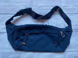 NWT LULULEMON On the Beat Belt Bag O/S TRNV True Navy