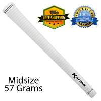 Karma Velvet Midsize Golf Grips Club Sports White Best Soft Rubber Grip Replace