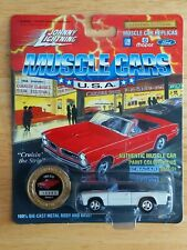 Johnny Lightning WHITE 1965 Pontiac GTO Convertible  LIMITED EDITION   moc