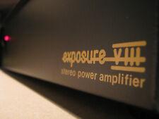 Exposure VIII - Endverstärker Endstufe - power amplifier from UK