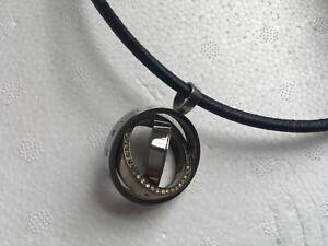 Bvlgari pendant and Bvlgari rope necklace