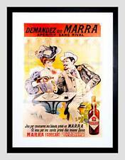 Vintage Advertisment Poster Demandez Un Marra WIA040 Print A4 A3 A2 A1