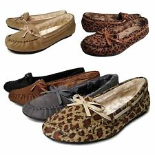 Unbranded Women's (0 to 1/2 in.) Suede Flats & Oxfords