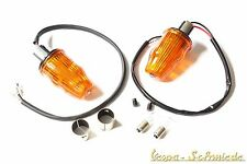 VESPA - SET 2x Lenkerendblinker - Orange V50 Rally Sprint Blinker Lenkerblinker