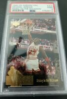 1995 Upper Deck Jordan Collection Michael Jordan #JC7 PSA 9 - Bulls LOW POP NBA