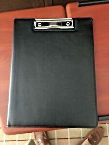 Leather clip board