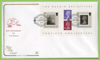 G.B. 2007 Machin Definitive M/S on Cotswold Mail First Day Cover, Stoke on Trent
