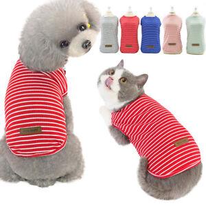Haustier Kleidung Hundekleidung Sommer Welpen T-Shirt Kleine Hund Katze Weste DE