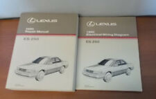 NOS 1990 LEXUS ES250 REPAIR MANUAL ELECTRICAL WIRING DIAGRAM