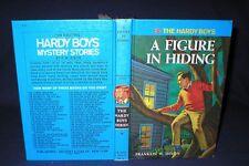 THE HARDY BOYS~#16-A FIGURE IN HIDING~1978A-59~HARDCOVER~FRANKLIN W. DIXON