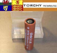 1 x 40A ShockLi 3200mAh 20700  3.7v Li-ion battery + case 20700 / 21700