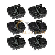 Set of 6 Ignition Coil Pack for Mercedes Benz CL ML S Class C CLK E UF359