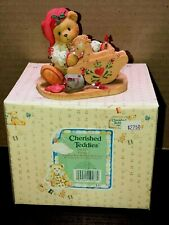 "Cherished Teddies Ginger ""Painting Your Holiday With Love"" 1995 Mib #141127"