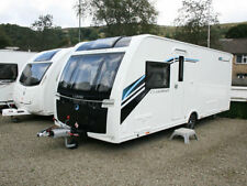 Lunar Mobile & Touring Caravans with 2