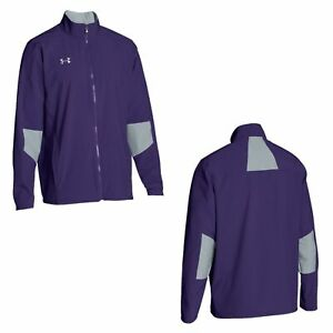 Under Armour Storm Vented Zip Up Warm-Up Men's Jacket Purple Size 4XL NWT