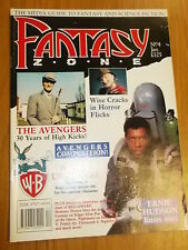 FANTASY ZONE #4 BRITISH MONTHLY JANUARY 1990 THE AVENGERS GHOSTBUSTERS (B)^