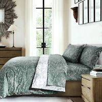 Southshore Fine Linens - Winter Brush Print Reversible Comforter Sets