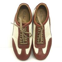 Cole Haan Men's NikeAir Casual Shoes 9 1/2M Red Tan