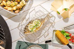 """Fisch & Gemüsegriller """"PESCADO"""" einfaches wenden, Grillguthalter , Grillkorb"""