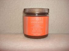 1 Bath & Body Works Lavender & Sandalwood + Lavender Oil Olive Oil Body Scrub