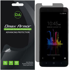 2-Pack Dmax Armor Privacy Anti-Spy Screen Protector for ZTE ZMax Pro 2