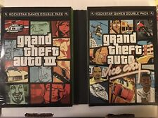Grand Theft Auto 3 & Vice City Double Pack Complete Xbox