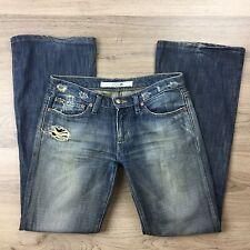 Joe's Women's Jeans Eno Boot Cut Distressed Size W26 Actual W30 L30.5 (AN14)