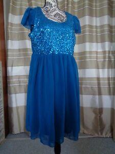 (A9) Ausgefallenes Damen Abendkleid GR: 46