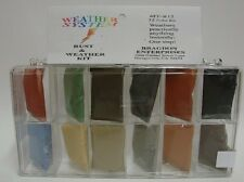 Bragdon Weather System 12 x 1/2oz. Small 12 Color Weathering Set
