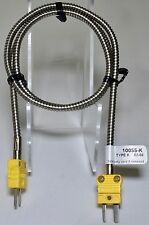 COOPER ATKINS TEMPERATURE PROBE 10055-K EXTENSION PATCH CABLE THERMOCOUPLE 30 IN