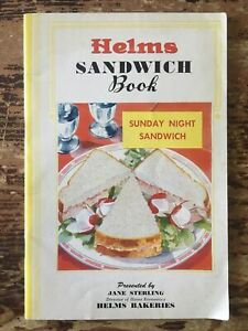 Vintage HELMS SANDWICH BOOK