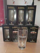 8 Guinness Editionsgläser 2010, mit der Harfen Prägung, für 0,3L, unbenutzt