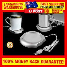 USB Mug Warmer Heater Coaster Heat Coffee Cup Great Office Gift