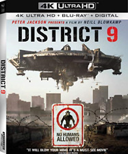 PB SCIENCE FICTION-DISTRICT 9 (4K UHD/BLU-RAY/DIGITAL) DVD NEUF