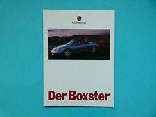 Prospekt / Katalog / Brochure Porsche Boxster (986)  08/96