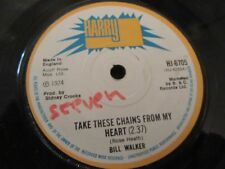 """BILL WALKER """"Take These Chains From My Heart"""" Harry J Records HJ-6705"""