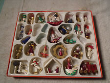 26 Christmas Wooden Toy Christmas Tree Oraments