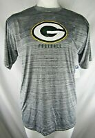 Green Bay Packers NFL Team Apparel Men's Grey Big & Tall Shirt
