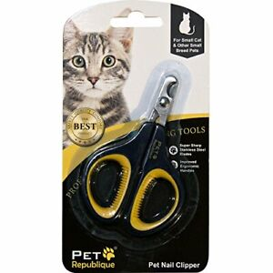 Cat Nail Clippers Professional Claw Trimmer Kitten Hamster Small Breed Animals