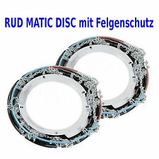 original RUD-matic DISC Schneeketten 205/45 R16 195/50 R16 Mercedes A-Klasse usw