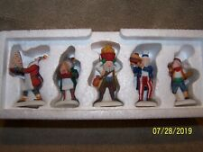 """Heritage Village Collection """"Early Rising Elves""""Set Of 5 - #5636.9-Adorable"""