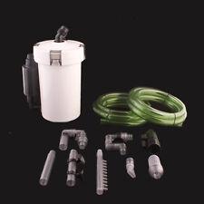 Aquarium Außenfilter 400l/h 3Stufen Filtermaterial Aquairum Filter Kammerfilter