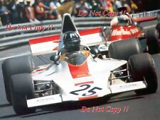 Graham Hill Embassy Racing Shadow DN1 Spanish Grand Prix 1973 Photograph 2