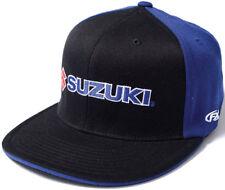 Factory Effex Suzuki Flex-Fit Hat -  Mens Lid Cap