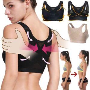 Posture Corrector Bra Rückenstütze Shaper anheben Mieder Soft BH ohne Bügel  de